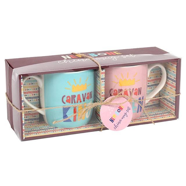 Caravan Mugs in box