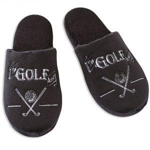 men's golf slippers