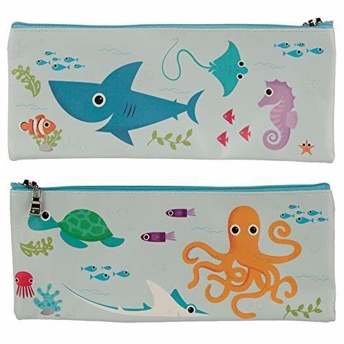 sea life pencil case