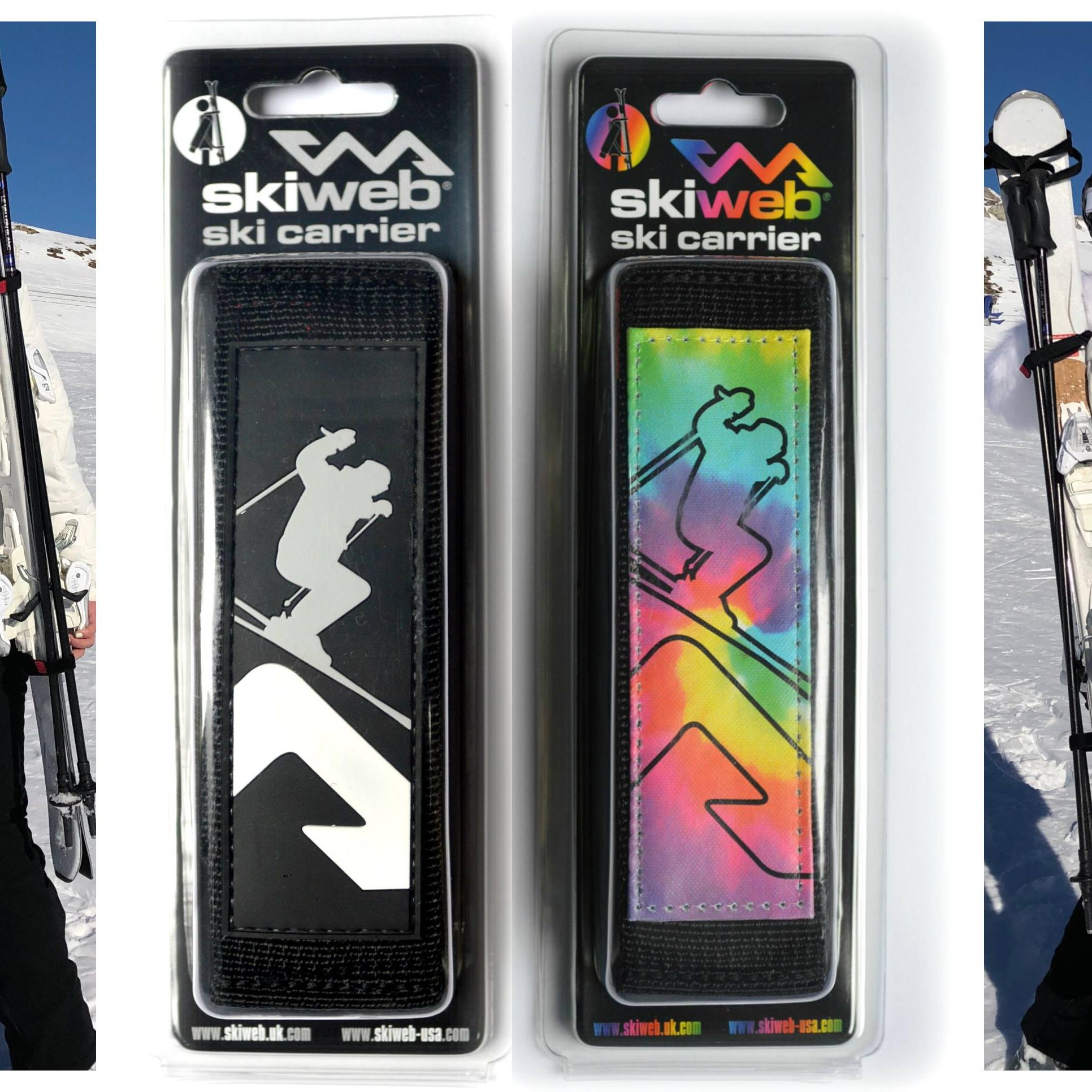 Ski Carrier Straps By Skiweb