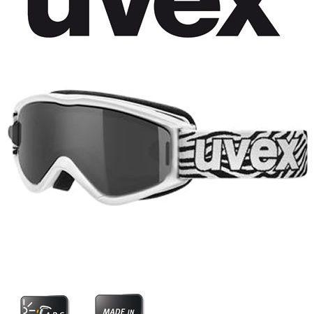 speed white ski goggles
