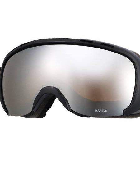 Ski Ski Goggles - Sinner Marble Double Mirror All Weather Lens