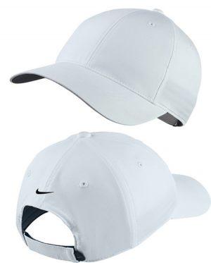 nike white golf cap