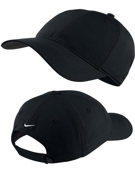 nike black gold cap