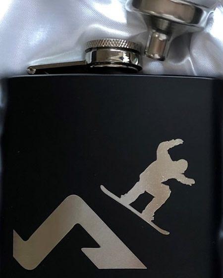 snowboard hip flask exclusive to skiweb